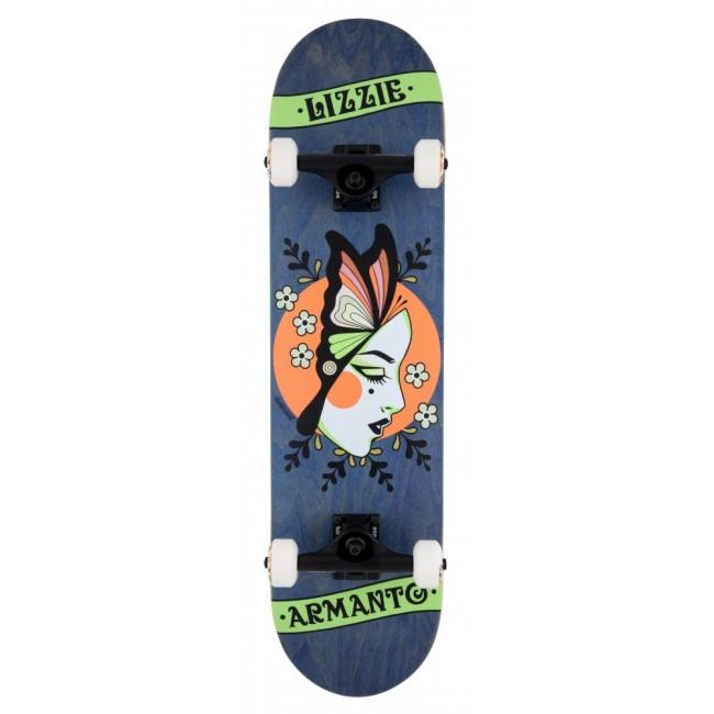 Birdhouse Stage 3 Skateboard Armanto Butterfly Blue 8