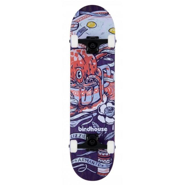 Birdhouse Stage 3 Skateboard Armanto Favourites Purple 7.75