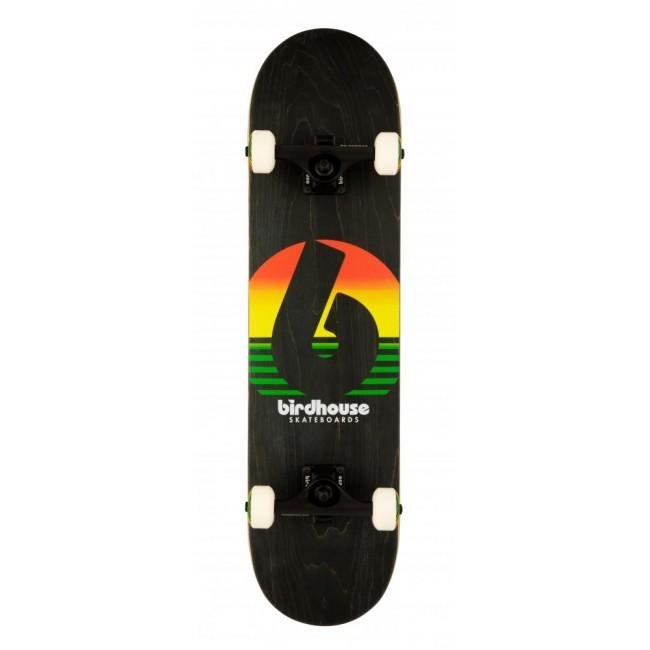 Birdhouse Stage 3 Skateboard Sunset Rasta 7.75