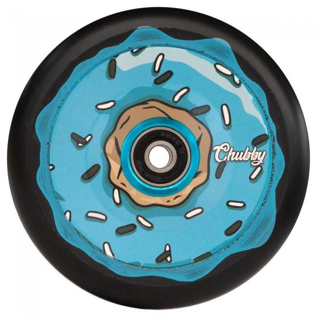Chubby Doughnut Oreo Scooter Wheels Blue 110mm