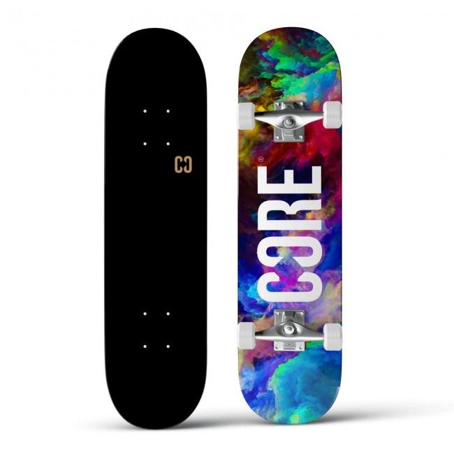 Core Split Complete Skateboard Neon Galaxy 7.75
