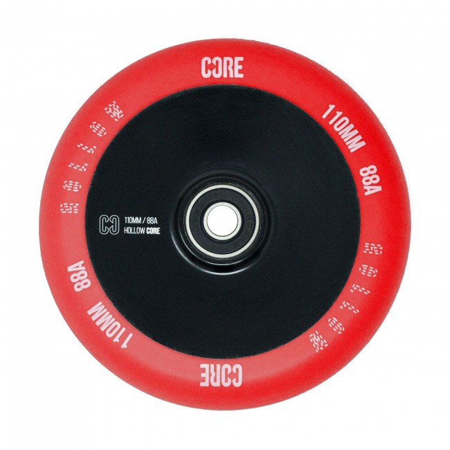 Core Hollow V2 Stunt Scooter Wheel Red/Black 110mm