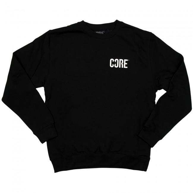 Core Sweatshirt Jet Black