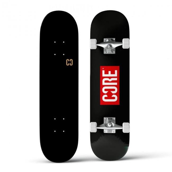 Core Split Complete Skateboard Stamp Black 7.75