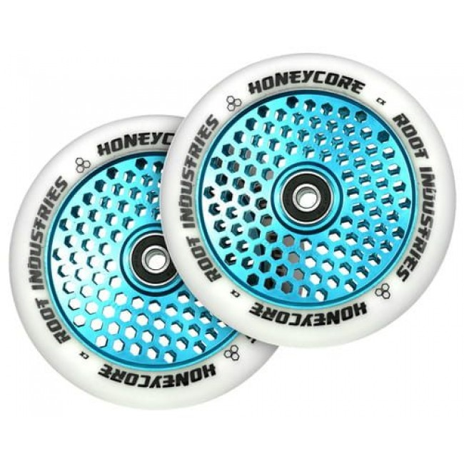 Root Industries Honey Core Scooter Wheels White/Blue