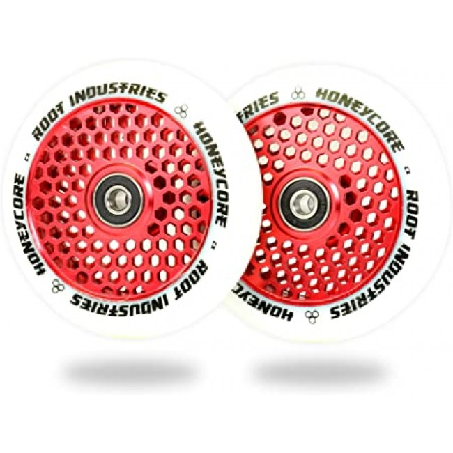 Root Industries Honey Core Scooter Wheels White/Red