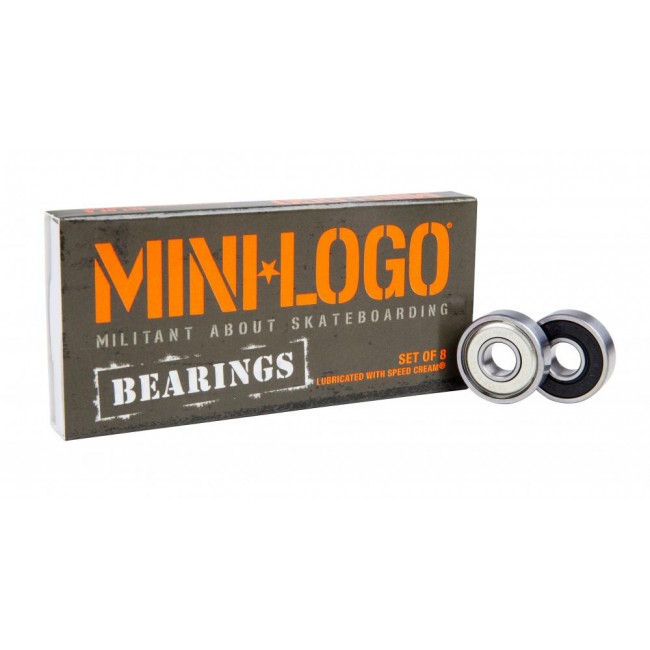 Mini Logo Skate Scooter Bearings 8 Pack
