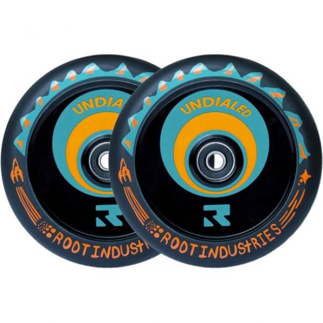 Root Air Undialed Scooter Wheels Orange 2-Pack