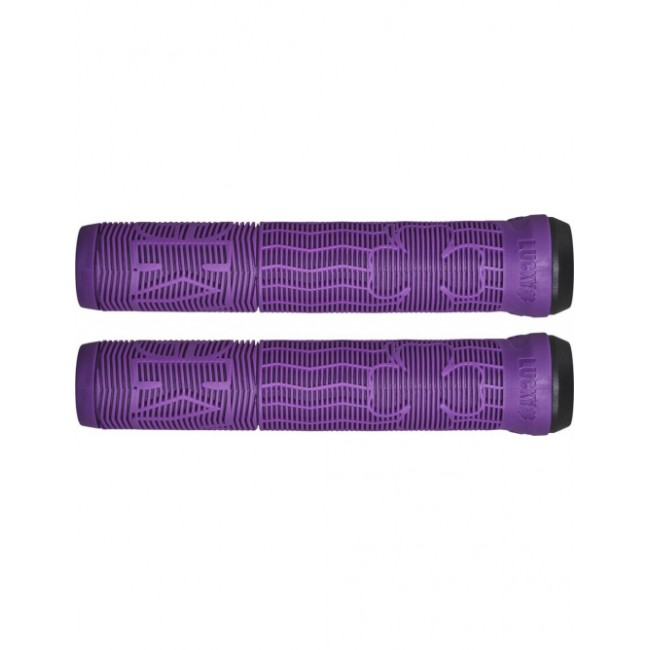 Lucky Vice Scooter Grips Purple 2.0