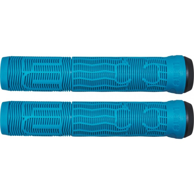 Lucky Vice Scooter Grips Teal 2.0
