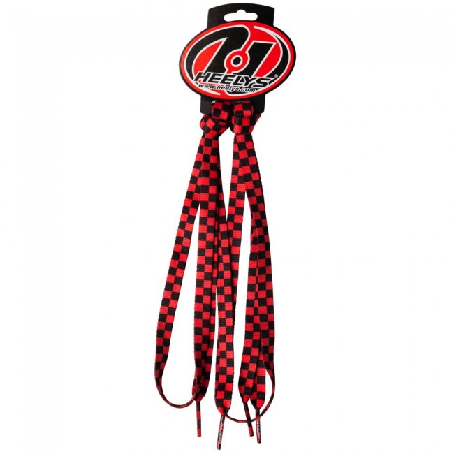 Heelys Check Laces Red/Black