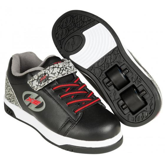 Heelys x2 dual up black grey elephant - Black and grey house ...