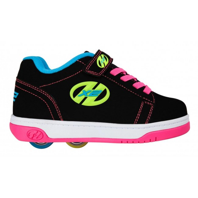 Heelys Dual Up Black/Neon Multi