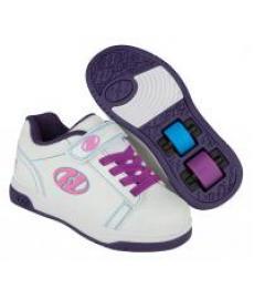 Heelys Dual Up X2 UV White/Purpe/Splatter