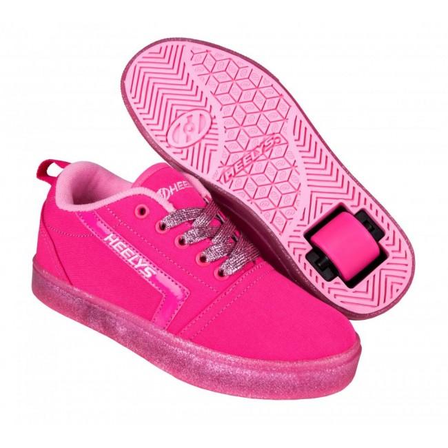 Heelys GR8 Pro Hot Pink/Light Pink/Glitter
