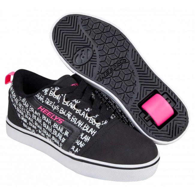 Heelys GR8 Pro Prints Black/Hot Pink/Blah