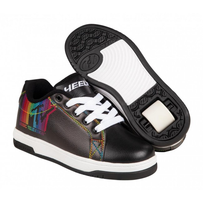Heelys X MTV Split Black/White/Rainbow