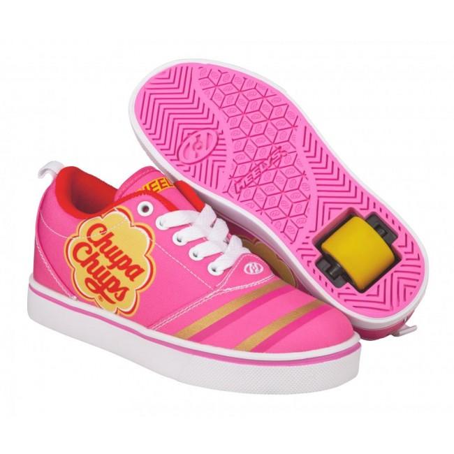 Heelys X Chuppa Chups Pro 20 Azalea Pink/Pink/White/Nylon