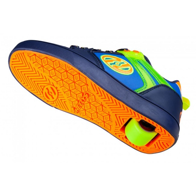 Heelys Motion 2.0 Navy/Bright Yellow/Orange