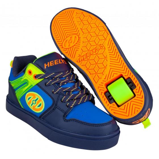 Heelys Motion 2.0 Navy/Bright Yellow/Orange