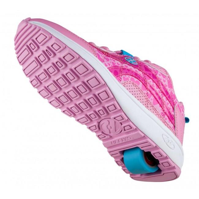 Heelys Nitro Light Pink/Pink Hearts