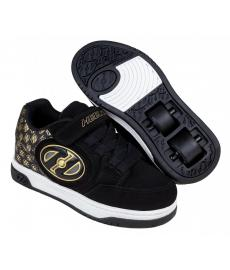Heelys Plus X2 Lighted Black/Gold/Logo