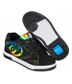Heelys Propel 2.0 Black/ Rainbow Foil