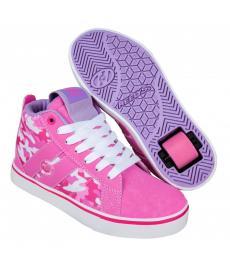 Heelys Racer Mid 20 Pink/Hot Pink/Camo