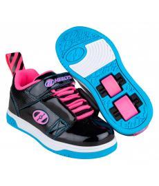 Heelys Rift X2 Black/Neon Pink/Cyan