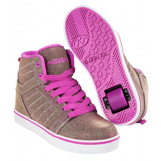 Heelys Uptown Gold/Berry Colourshift