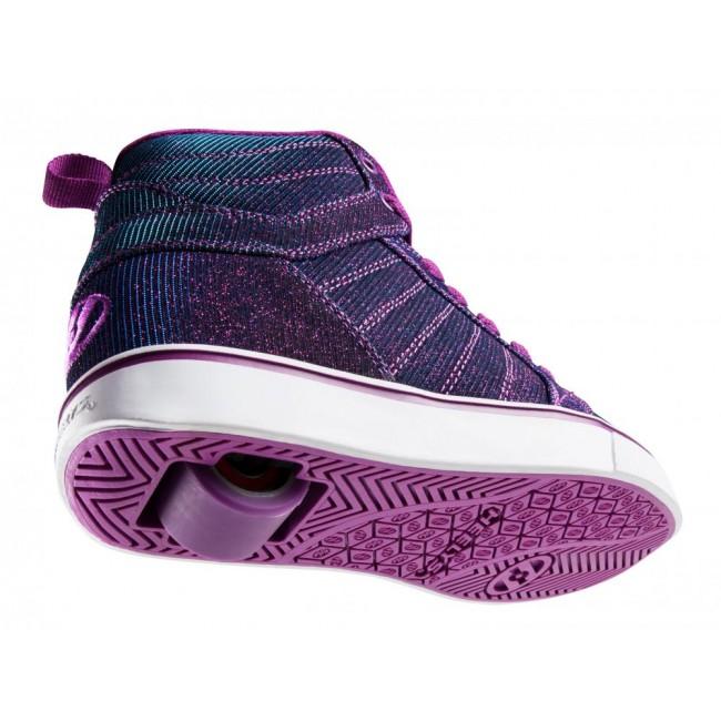 Heelys Uptown Purple/Aqua Colourshift