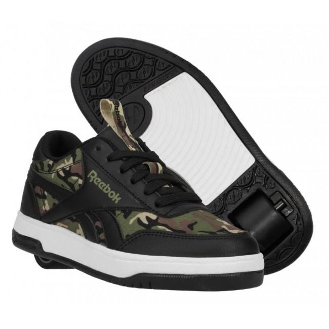 Heelys X Reebok CL Court Low Black/Capulat Olive/Safari