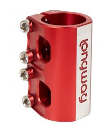 Longway Quattro SCS Scooter Clamp Red