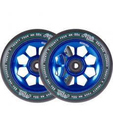 North Pentagon Scooter Wheels Blue 120mm 2 Pack
