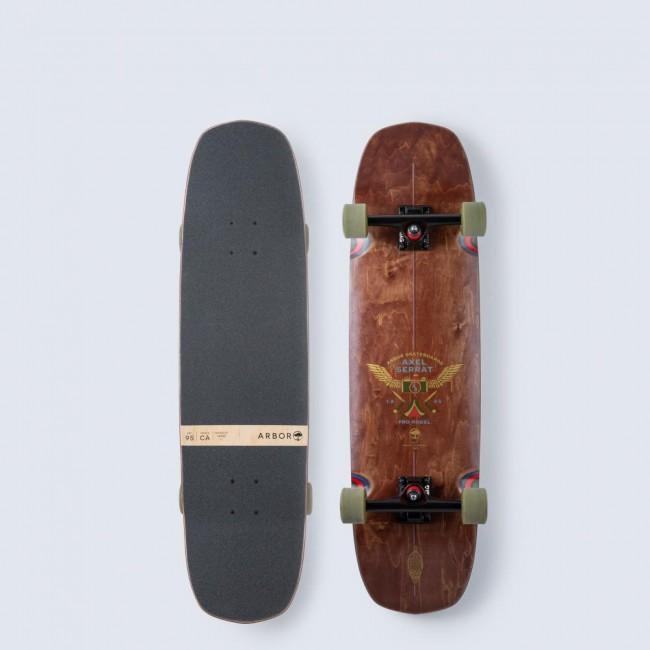 Arbor Axel Serrat Pro Complete Skateboard 34