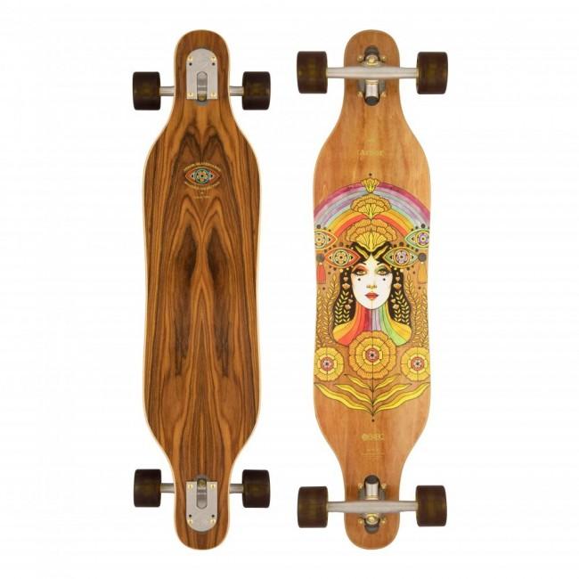 Arbor Solstice Axis B4BC Cruiser Skateboard 37