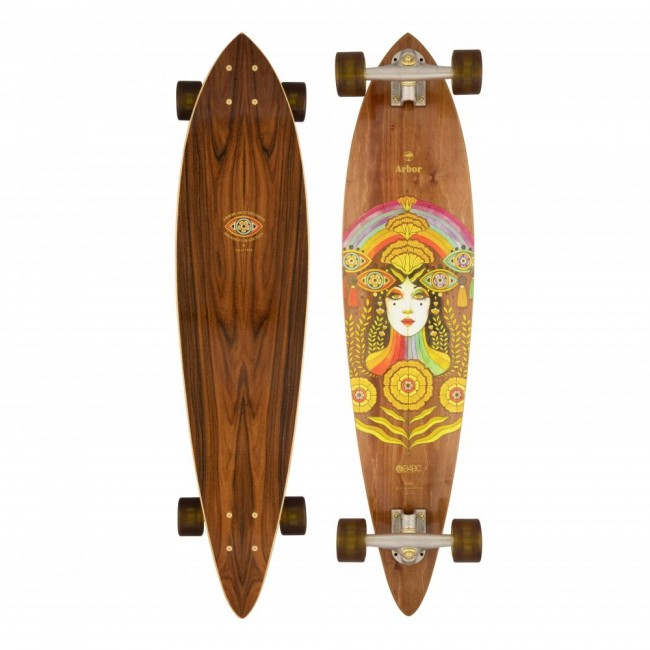 Arbor Solstice Fish B4BC Cruiser Skateboard 37