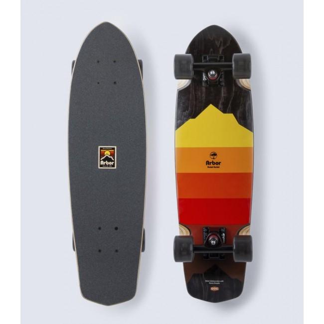 Arbor Artist Pocket Rocket Cruiser Skateboard 27