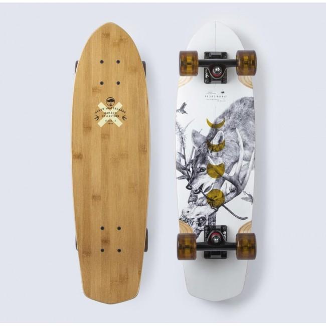 Arbor Bamboo Pocket Rocket Cruiser Skateboard 27