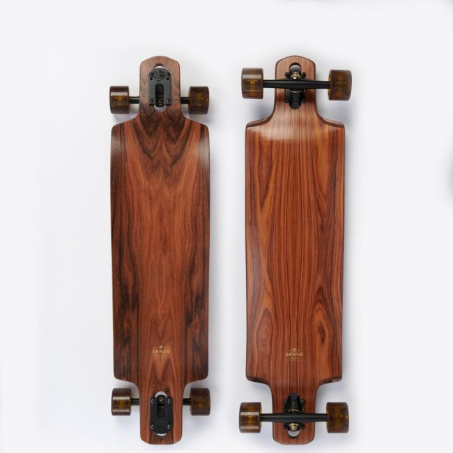 Arbor Flagship Drop Cruiser Cruiser Skateboard 38