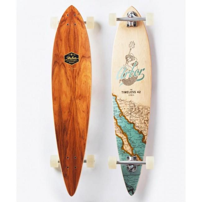 Arbor Groundswell Timeless Cruiser Logboard Skateboard 42