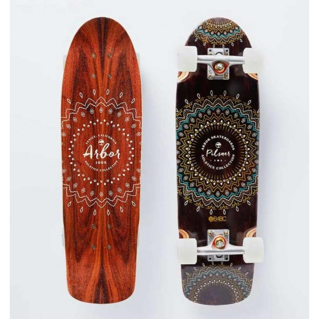 Arbor Solstice Pilsner B4BC Cruiser Skateboard 28.75