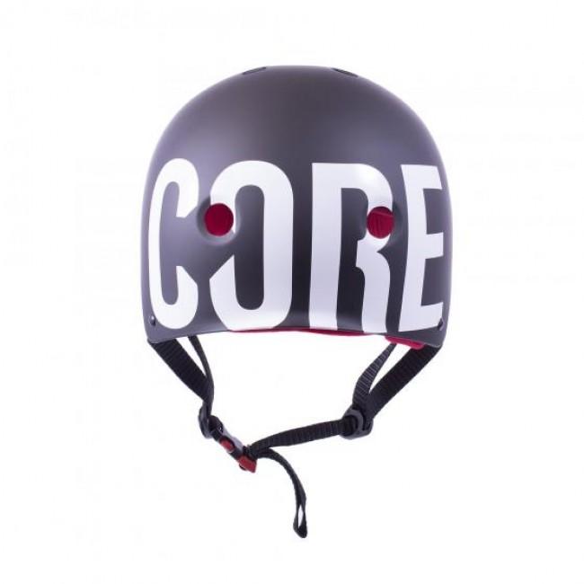 Core Pro Light Scooter Helmet Black/Red L/XL