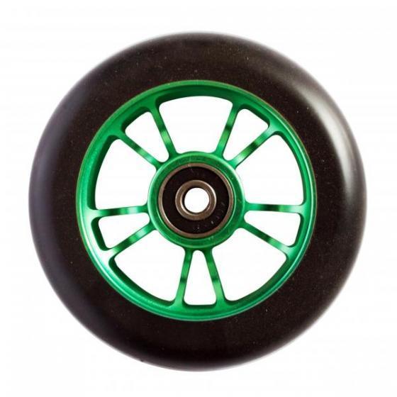 Blunt 10 Spoke Scooter Wheel Green 100mm