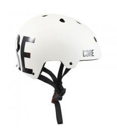 Core Pro Light Scooter Helmet White L/XL