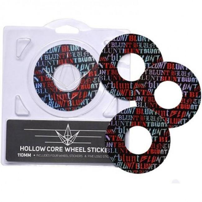 Blunt Envy Font Sticker Pack 110mm