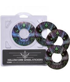 Blunt Envy Green Skull Sticker Pack 110mm