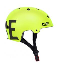 Core Street Scooter Helmet Neon Green L/XL