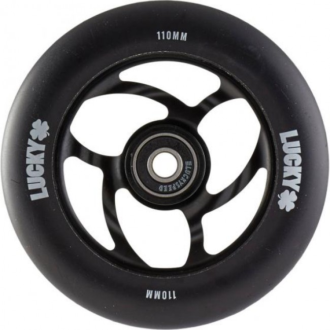 Lucky Torsion Scooter Wheel Black 110mm