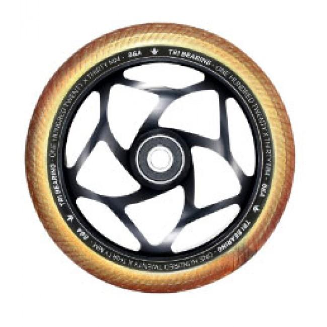 Blunt Tri Bearing Scoter Wheel Black/Gold 120mm x 30mm